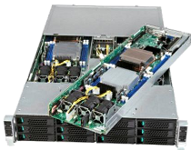 ION's CN24E5 Quad Compute Node based on Intel S2600KP